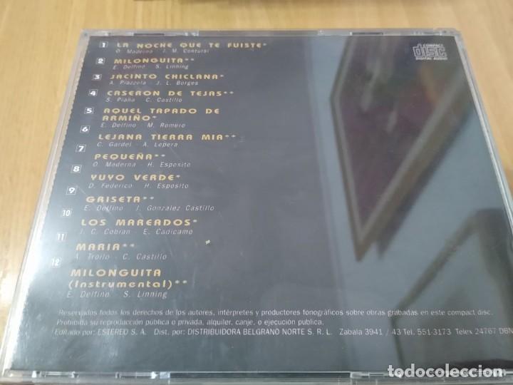 CDs de Música: HORACIO MOLINA -CD ECOS TANGO CANCIÓN ARGENTINO - Foto 2 - 223357206