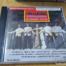 CDs de Música: LOS 5 LATINOS -20 GRANDES EXITOS ORIGINALES -CD IMPORTADO. Lote 223359722