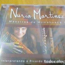CDs de Música: NURIA MARTINEZ HOMENAJE A RICARDO VILCA Y UÑA RAMOS -MUSICA DE LOS ANDES CD. Lote 223377552