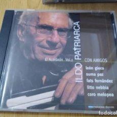CDs de Música: ILDO PATRIARCA CD EL ACORDEON CON AMIGOS SUMA PAZ -LEON GIECO MUSICA ARGENTINA. Lote 223379408