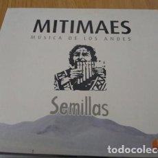 CDs de Música: MITIMAES -MUSICA DE LOS ANDES CD SEMILLAS -FOLKLORE ARGENTINO. Lote 223379721