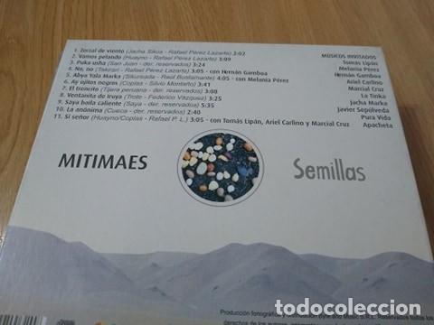 CDs de Música: MITIMAES -MUSICA DE LOS ANDES CD SEMILLAS -FOLKLORE ARGENTINO - Foto 2 - 223379721
