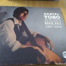 CDs de Música: DANIEL TORO ANTOLOGIA MUSIC HALL 1967/1984 CD FOLKLORE ARGENTINO. Lote 223383611