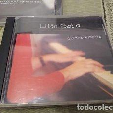 CDs de Música: LILIAN SABA CD CAMINO ABIERTO PIANISTA ARGENTINA RAIZ FOLKLORICA. Lote 223404851