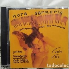 CDs de Música: NORA SARMORIA CD VUELO UNO -PIANISTA ARGENTINA RAIZ FOLKLORICA. Lote 223406226