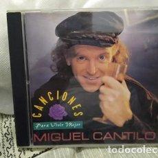 CDs de Música: MIGUEL CANTILO CD CANCIONES PARA VIVIR MEJOR. Lote 223406435