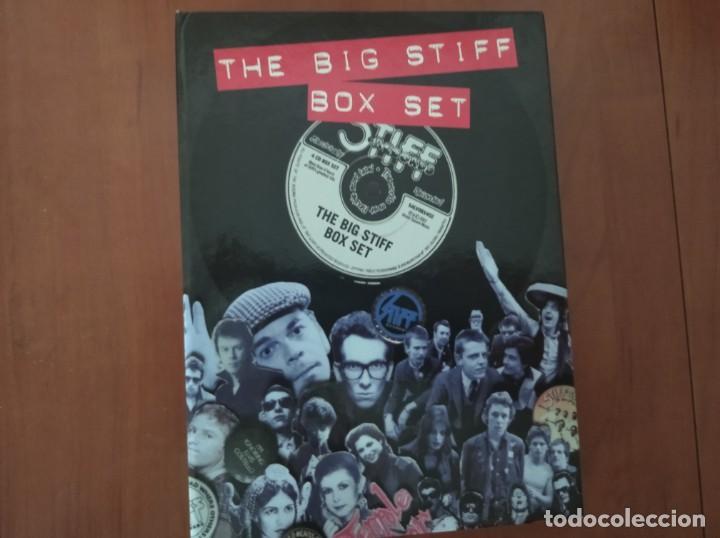 THE BIG STIFF BOX SET - STIFF RECORDS - 4 CDS Y LIBRO (Música - CD's Otros Estilos)