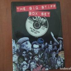 CDs de Música: THE BIG STIFF BOX SET - STIFF RECORDS - 4 CDS Y LIBRO. Lote 223484163