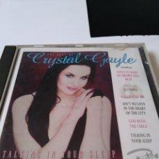 CDs de Música: CD THE BEST OF CRYSTAL GAYLE. TALKING IN YOUR SLEEP. Lote 223492885