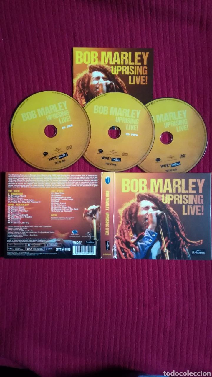 BOB MARLEY: UPRISING LIVE. 2 CD'S + 1 DVD. (Música - CD's Reggae)