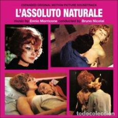 CDs de Música: ENNIO MORRICONE – L'ASSOLUTO NATURALE. Lote 223561783