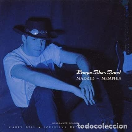 VARGAS BLUES BAND. MADRID-MEMPHIS. (Música - CD's Jazz, Blues, Soul y Gospel)