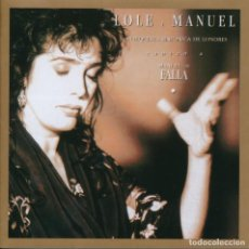 CDs de Música: LOLE Y MANUEL. CANTAN A MANUEL DE FALLA.. Lote 223563417