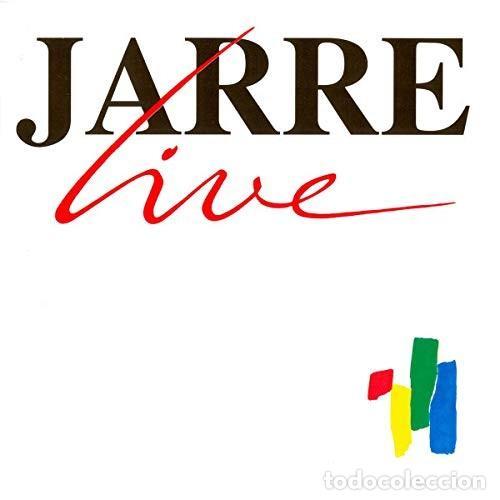 JEAN-MICHEL JARRE. LIVE (Música - CD's New age)