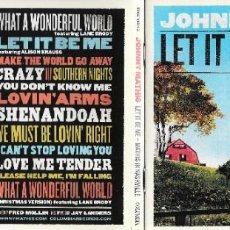 CDs de Música: JOHNNY MATHIS - LET IT BE ME: MATHIS IN NASHVILLE. Lote 223569076