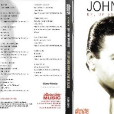 CDs de Música: JOHNNY MATHIS - UP, UP AND AWAY / LOVE IS BLUE. Lote 223577132