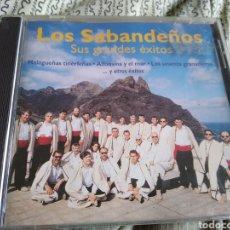 CDs de Música: LOS SABANDEÑOS CD SUS GRANDES EXITOS. Lote 223600573
