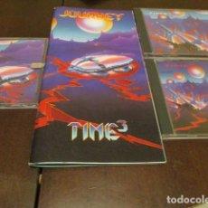 CDs de Música: JOURNEY - TIME 3 - PRIMERA EDICION - 3 CD + LIBRETO - 1975 & 1992. Lote 223624710