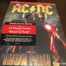 CDs de Música: AC DC - IRON MAN 2 - EDICION LIMITADA EN FORMATO LIBRO - PRECINTADO - BACK IN BLACK. Lote 223625151
