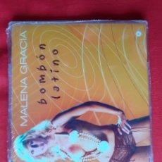 CDs de Música: BOMBON LATINO. MALENA GRACIA. SINGLE CONTIENE 3 TEMAS (PRECINTADO). Lote 223634346