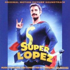 CDs de Música: SUPER LÓPEZ / FERNANDO VELÁZQUEZ CD BSO - QUARTET. Lote 223649286