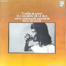 CDs de Música: CAMARÓN. CASTILLO DE ARENA.. Lote 223662825