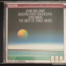 CDs de Música: RAREZA COLECCIONISTAS CD 1990 - STAR WARS / SUPERMAN / E.T. - JOHN WILLIANS BOSTON POPS ORCHESTRA -. Lote 223701532