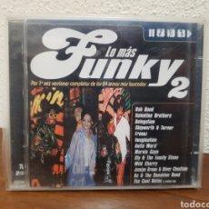 CDs de Música: CD LO MÁS FUNKY 2 MAX MUSIC 2CDS. Lote 223705917
