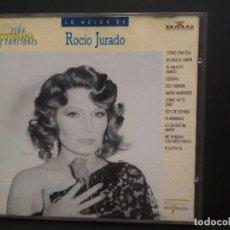 CDs de Música: CD LO MEJOR DE ROCIO JURADO VIDA COTIDIANA Y CANCIONES BMG Nº47 PEPETO. Lote 223733828