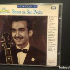 CDs de Música: LO MEJOR DE BONET DE SAN PEDRO. CD ALBUM VIDA COTIDIANA Y CANCIONES EMI Nº22 PEPETO. Lote 223738853