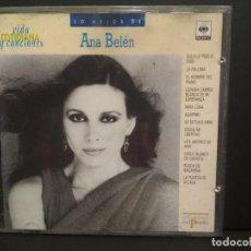 CDs de Música: LO MEJOR DE ANA BELÉN CD VIDA COTIDIANA Y CANCIONES CBS Nº49 PEPETO. Lote 223739110