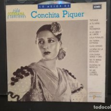 CDs de Música: CD ALBUM CONCHITA PIQUER, LO MEJOR DE, VIDA COTIDIANA Y CANCIONES EMI, Nº1 PEPETO. Lote 223743106
