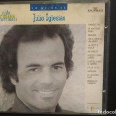 CDs de Música: JULIO IGLESIAS LO MEJOR CD ALBUM VIDA COTIDIANA Y CANCIONES BMG Nº40 PEPETO. Lote 223745620