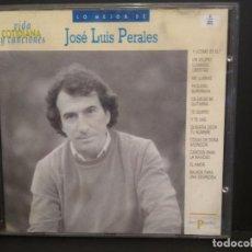 CDs de Música: CD LO MEJOR DE JOSÉ LUIS PERALES VIDA COTIDIANA Y CANCIONES HISPAVOX Nº41 PEPETO. Lote 223745906