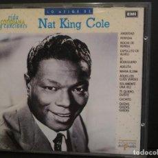 CDs de Música: CD ALBUM LO MEJOR DE NAT KING COLE - VIDA COTIDIANA Y CANCIONESNº 3 PEPETO. Lote 223748015