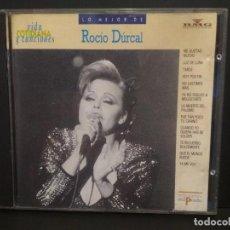 CDs de Música: ROCIO DURCAL LO MEJOR CD ALBUM VIDA COTIDIANA Y CANCIONES BMG Nº58 PEPETO. Lote 223748300