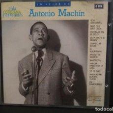 CDs de Música: CD / LO MEJOR DE ANTONIO MACHIN VIDA COTIDIANA Y CANCIONES EMI Nº 0 PEPETO. Lote 223748876