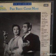 CDs de Música: CD EMI LO MEJOR DE PEPE BLANCO CARMEN MORELL - ESPAÑA - VIDA COTIDIANA Y CANCIONES Nº10 PEPETO. Lote 223749173