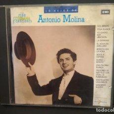 CDs de Música: LO MEJOR DE ANTONIO MOLINA. CD ALBUM VIDA COTIDIANA Y CANCIONES EMI Nº 11 PEPETO. Lote 223750512