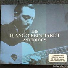CDs de Música: BOX 3 CD JAZZ TRIPLE THE DJANGO REINHARTD ANTHOLOGY/RETROSPECTIVE 1934-1953 OVER THREE HOUR OF MUSIC. Lote 223806032