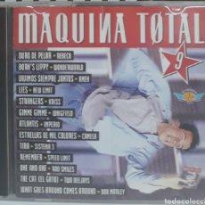 CDs de Musique: CD MÁQUINA TOTAL 9. Lote 223814002