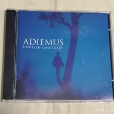 CDs de Música: CD: ADIEMUS - SONGS OF SANCTUARY - VIRGIN RECORDS, 1995 - CANTUS INSOLITUS / KAYAMA / HYMN / ... -. Lote 223841788