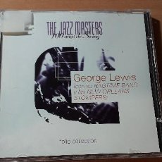 CDs de Música: 14-00183 - THE JAZZ MASTER, GEORGE LEWIS. Lote 223935583