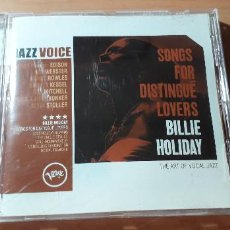 CDs de Música: 14-00189 - JAZZ VOICE, BILLIE HOLIDAY. Lote 223936520