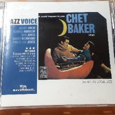 CDs de Música: 14-00193 - JAZZ VOICE, CHET BAKER. Lote 223936920