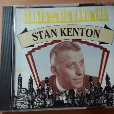 CDs de Música: 14-00195 - GIANTS OF THE BIG BAND ERA STAN KENTON. Lote 223937072