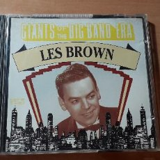 CDs de Música: 14-00196 - GIANTS OF THE BIG BAND ERA, LES BROWN. Lote 223937182