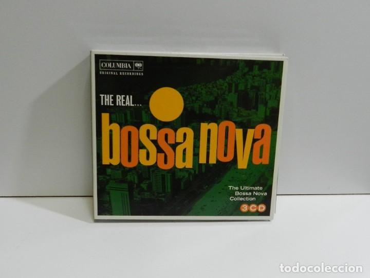 DISCO 3 CD. THE REAL... - THE ULTIMATE BOSSA NOVA COLLECTION. COMPACT DISC. TRIPLE. (Música - CD's Latina)