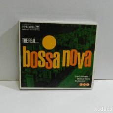 CDs de Música: DISCO 3 CD. THE REAL... - THE ULTIMATE BOSSA NOVA COLLECTION. COMPACT DISC. TRIPLE.. Lote 223941136