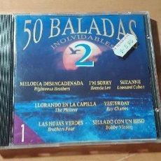 CDs de Música: 14-00228 - 50 BALADAS INOLVIDABLES 2. Lote 223941781